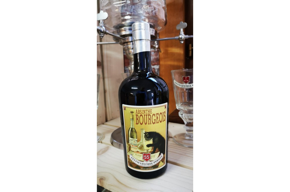 Absinthe Bourgeois 55°