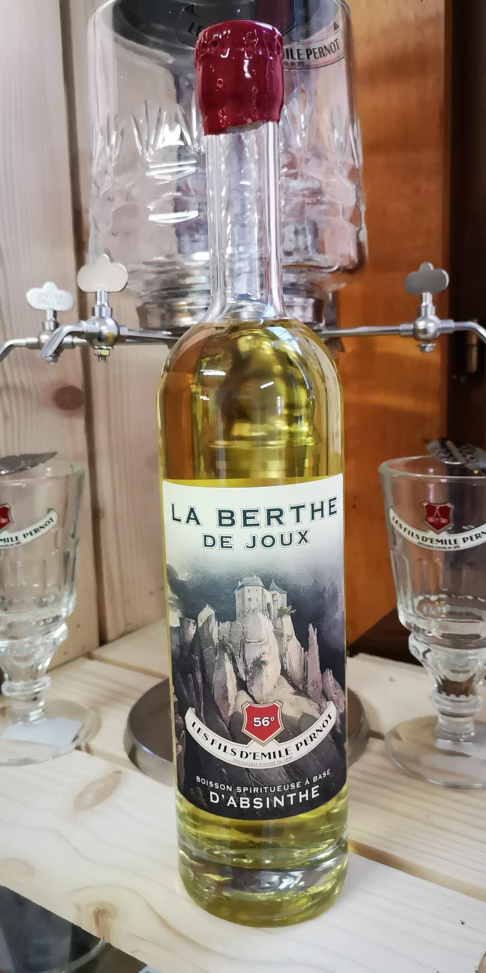 Absinthe La Berthe de Joux 56°