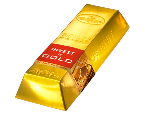 Lingot Gold Swiss Pralines
