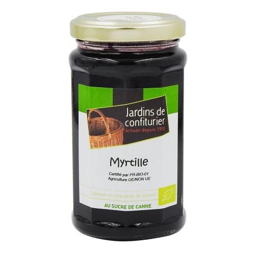 Confiture myrtille bio