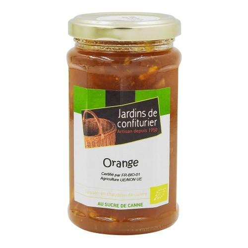 Confiture orange bio
