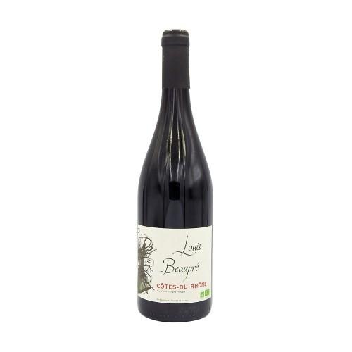 Vin rouge Côtes du Rhône Beaupre BIO AOP 75cl
