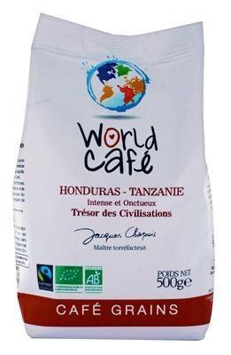 Café grains BIO Honduras-Tanzanie