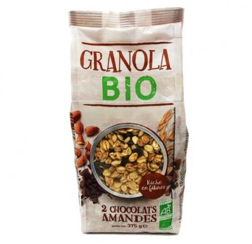 Granola 2 chocolats amandes BIO
