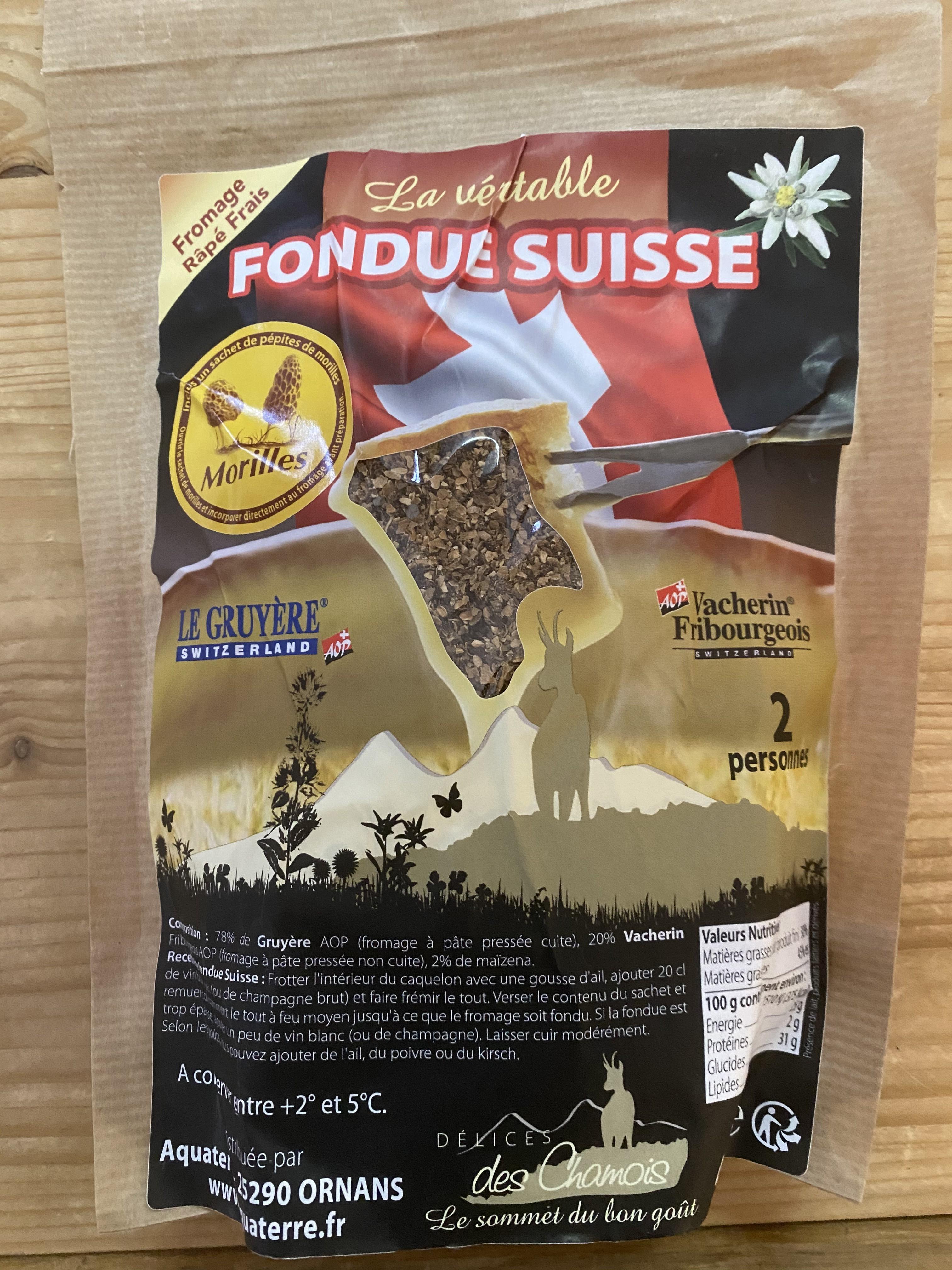 Fondue Suisse aux Morilles